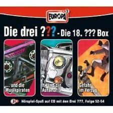 DIE DREI ??? 18 (FOLGE 52-54) 3 CD BOX HÖRBUCH NEU