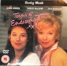 Terms Of Endearment (DVD), Shirley MacLaine, Jack Nicholson, Debra Winger