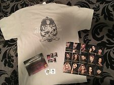 SDCC Twilight Breaking Dawn PT 1 & 2 Large T-Shirt, Pins, Cards, Tattoos Lot NEW