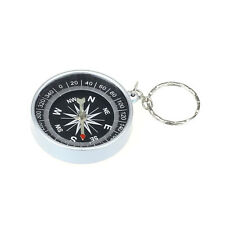 Keychain Outdoor Camping Plastic Compass Hiking Hiker Navigation 9HOT1