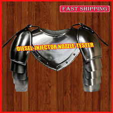 Iron Gorget Spaulders Arm & Shoulder Set Re-enactment Pauldrons Armour