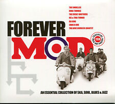 FOREVER MOD AN ESSENTIAL COLLECTION OF SKA, SOUL, BLUES & JAZZ - 2 CD BOX SET