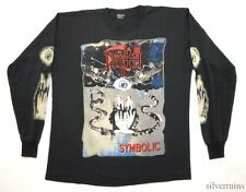 DEATH Vintage T Shirt 90's Tour Concert 1995 Symbolic LS Metal Band L