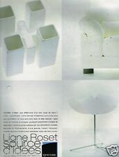 Publicité advertising 1999 Mobilier et Decoration Ligne Roset