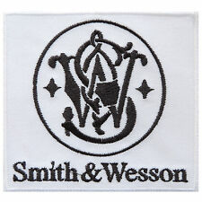 SMITH & WESSON Gun Rifles Pistol Hunting Police Security Iron on Patches #P036