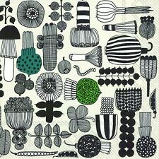 Marimekko PUUTARHURIN PARHAAT food paper table 33cm square napkins 20 in pack