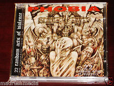 Phobia: 22 Random Acts Of Violence CD 2008 Willowtip Records WT-062 NEW