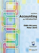 Accounting: An Introduction by Eddie McLaney, Peter Atrill (Paperback, 2004)