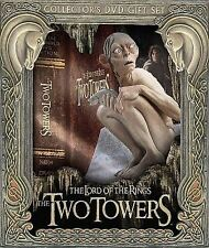 The Lord of the Rings: TWO TOWERS Collectors 5 DVD Gift Set & GOLLUM