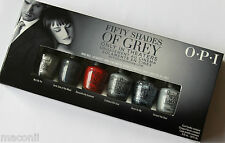 OPI - 50 Shades Of Grey Mini Set - Grey Red Glitter Creme Nail Polish Lacquer