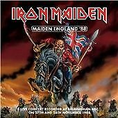 "Iron Maiden ""Maiden In England '88"" Dble CD Album (New & Sealed) U.K. Free Post"