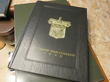 "Original 1998 U.S. Army War College Yearbook ""The Torch"" USAWC Class 1998 #K"