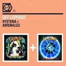 "DEF LEPPARD ""HYSTERIA/ADRENALIZE"" 2 CD NEW+"