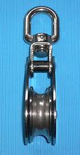 2751-13 Block Umlenkrolle Edelstahl V2A einfach 13mm