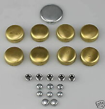 BRASS FROST FREEZE CORE PLUGS BBC CHEV 396 427 454 STROKER DRAG HOTROD BIG BLOCK