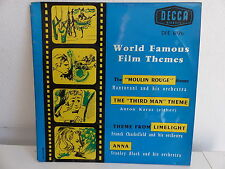 World famous film themes MANTOVANI KARAS CHACKSFIELD STANLEY BLACK DFE 6126