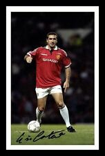 ERIC CANTONA - MANCHESTER UNITED AUTOGRAPHED SIGNED & FRAMED PP POSTER PHOTO 3