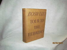 Antique Book - Boswell's Journal of A Tour to the Hebrides with Samuel Johnson