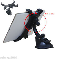 In-Car Mobile Phone Ipad GPS 360° Rotation Mount Holder Desk For Ipad 7''-10''