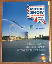 2006 British Motor Show Guide - 100 Years of Le Mans, Bugatti Veyron, Jag XKR