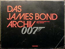 JAMES BOND 007 - DAS JAMES BOND ARCHIV - BUCH VON PAUL DUNCAN