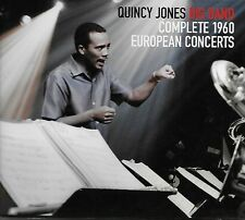 The Quincy Jones Big Band ‎– Complete 1960 European Concerts - 4 CDs 2011
