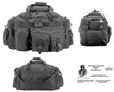 The Humvee Duffel Bag/Bug Out Bag Tactical/Military/Survival Gear - Large-Black