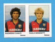 CALCIO FLASH '85-LAMPO-Figurina n.368- CANUTI+BENEDETTI - GENOA -NEW