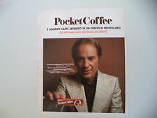 advertising Pubblicità 1971 FERRERO POCKET COFFEE