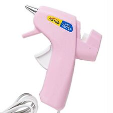 Ad Tech Hi Temp Pink Mini Hot Glue Gun with Built in Stand for Crafts