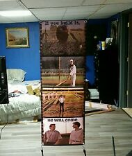 HUGE! 46x17aprx Field of Dreams VINYL BANNER POSTER movie film Baseball dvd art