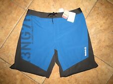 Men's Reebok CrossFit Fitness Athletic Workout Jogging Shorts Blue XL