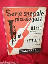 G. FOLCESI Razzo + satellite 1959 Spartiti JAZZ