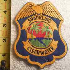 CLEARWATER FLORIDA POLICE PATCH (EMS, HIGHWAY PATROL, STATE POLICE, SHERIFF)