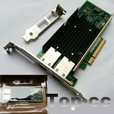 Intel 82599 X540 -T2 10G Dual Ports PCIe x8 Ethernet Converged Network Adapter