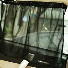 Universal Auto Car Black Sunshade Curtain Curtain With Suction Cup 50 * 75CM Z