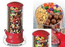 Triple Candy Machine Dispenser Sweets 3 Compartment Bubble Gum Snacks Storage