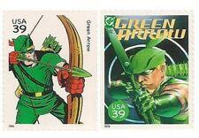 US 4084d 4084n DC Comics Super Heroes Green Arrow 39c 2 stamps MNH 2006