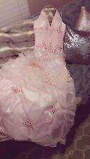 Prom Dress Alyce Designs Baby Pink SZ 4