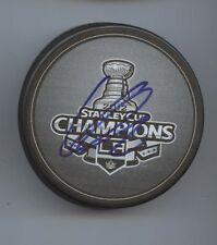 KYLE CLIFFORD LOS ANGELES LA KINGS SIGNED 2012 STANLEY CUP CHAMPS PUCK w/ COA