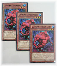 3 x CLOUDIAN - POISON CLOUD BP01-EN193 yugioh common Fiend card set NM
