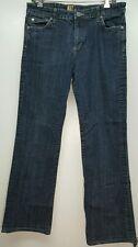 Kut from the Kloth 5 pocket medium wash distressed bootcut jeans SZ 10 W31 L31