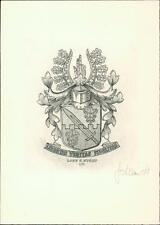 Lars C Stolt.  Swedish expert on heraldry , bookplates.   Bookplate Qi.225
