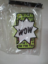 Victoria Secret Wow Pink Iphone Case 4/4S Neon Yellow  New
