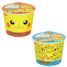 Pokemon Noodle Instant Ramen Assorted set of 2 taste Soy sauce Seafood
