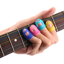 4x Guitar Thumb Finger Picks Protector Silicone Plectrum Fingertip Useful