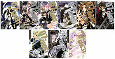 07-GHOST Series MANGA by Yukino Ichihara Collection Set Volumes 1-9!