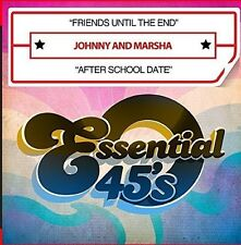 Friends Until The End / After School Date - Johnny & Marsha (2015, CD NIEUW)