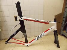 Large BMC Time Machin TT02 Carbon Alluminum TT Tri Frame & Full Carbon Fork