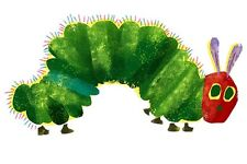 "The Very Hungry Caterpillar Iron On Transfer, 4x7.5"" for LIGHT Colored Fabric"